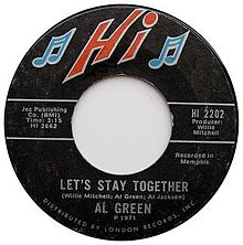 Let's Stay Together